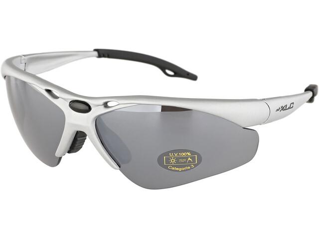 XLC Tahiti SG-C02 Bril, silver/mirrored